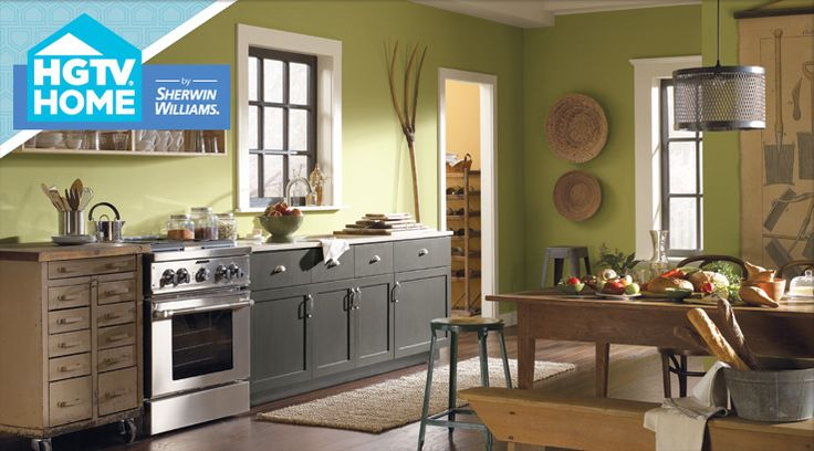 Urban Organic - Sherwin-Williams: Kitchens, Paint Colors, Kitchen Design, Sherwin Williams, House, Hearts Of Palms, Kitchen Ideas