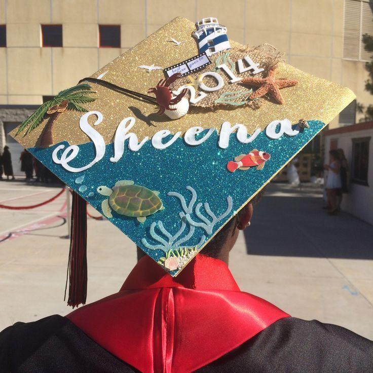 Graduation cap decoration idea - #decoration #graduation - #DecorationGraduation