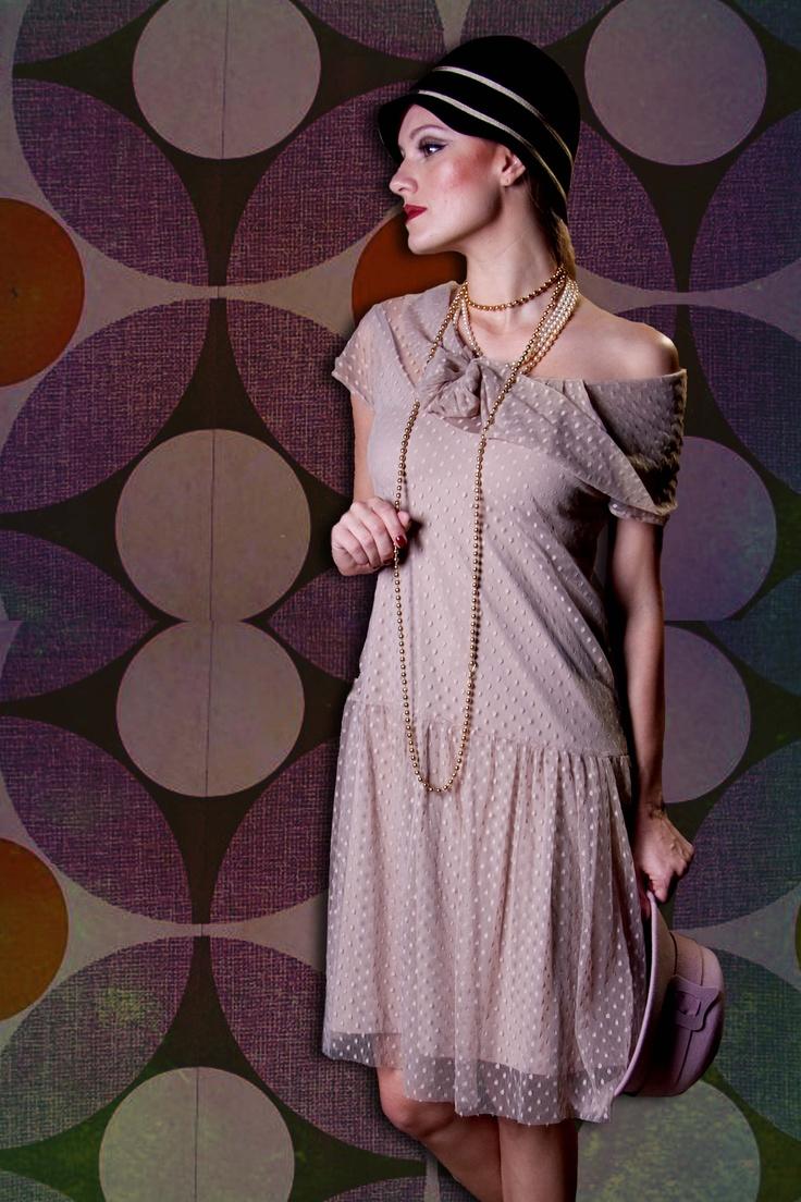 Vestido Anos 20: Picnic da Rainha
