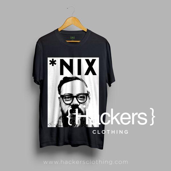 Unix Dennis Ritchie T-shirt #hacker #tshirt #geek
