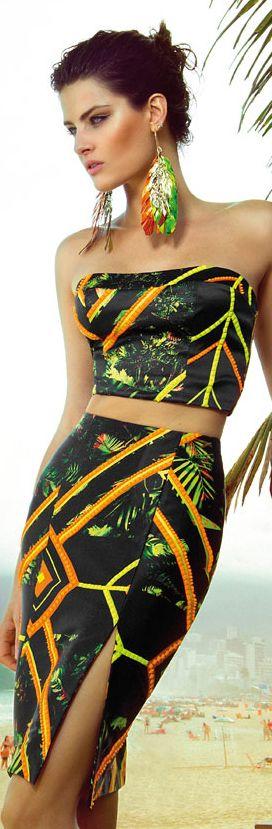 Pronta pra festa pós-praia <3 Inspire-se mais em www.eugosto.de