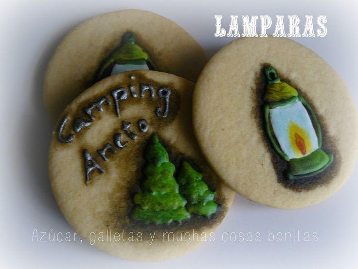 Azúcar galletas y muchas cosas bonitas: Galletas de camping