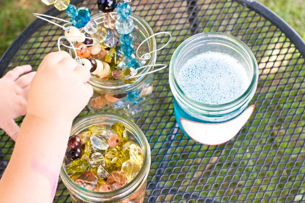 Bubble wands and bubble recipe