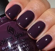 Fall Nails: China Glaze Nail Lacquer in Charmed I'm Sure