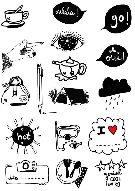 printable for free! stickers to use in your personal projects:) downloadable here:)