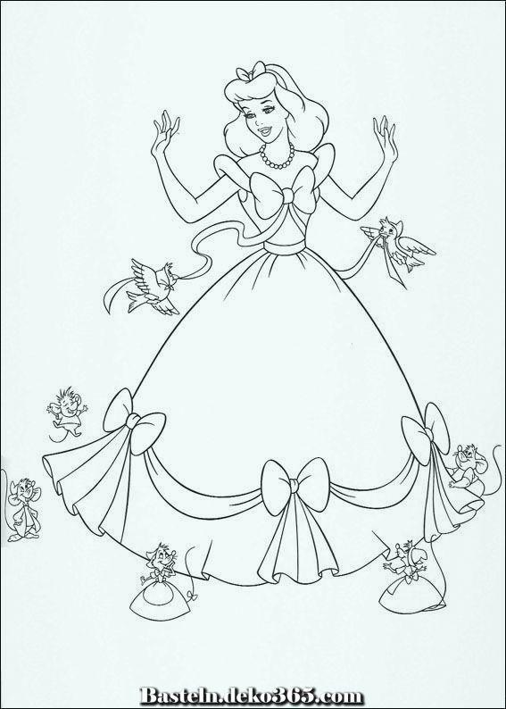Aschenputtel Farbung Dasjenige Aschenputtel Kleid Ist Vorbei Basteln Mit Kids Ausmalbilder Malvorlagen Zum Ausdrucken Malvorlagen