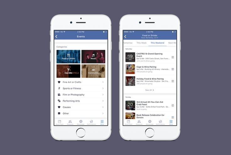 """Facebook is a popular social media platform that is now helping people find events and entertainment. Users can peruse events from major cities and search for events under categories such as """"night life"""" as well as for events in different locations. Today, people rely on technology to find them forms of entertainment. This new method replaces the word-of-mouth method used prior to technology. Facebook used to flood people with event notifications, but has since worked to eliminate the…"""