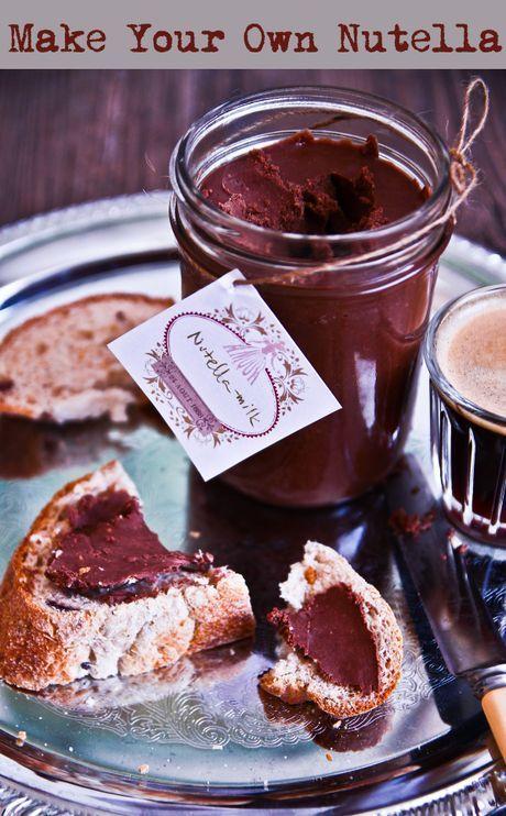 nutella from scratch white, milk, dark