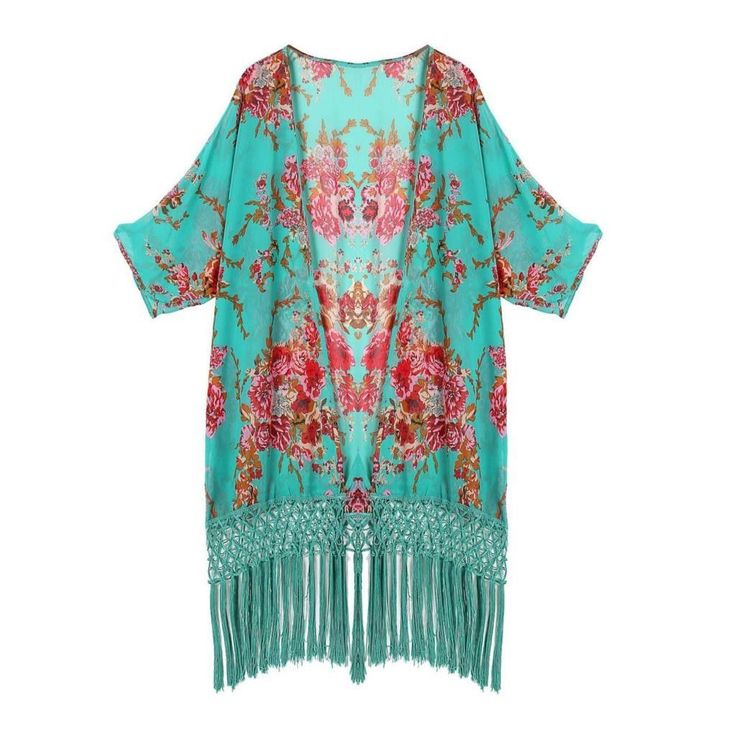 Long Polyester sexy beach wear cover up for women. Perfect to wear with your bathing suit because it dries fast while keeping you in style.