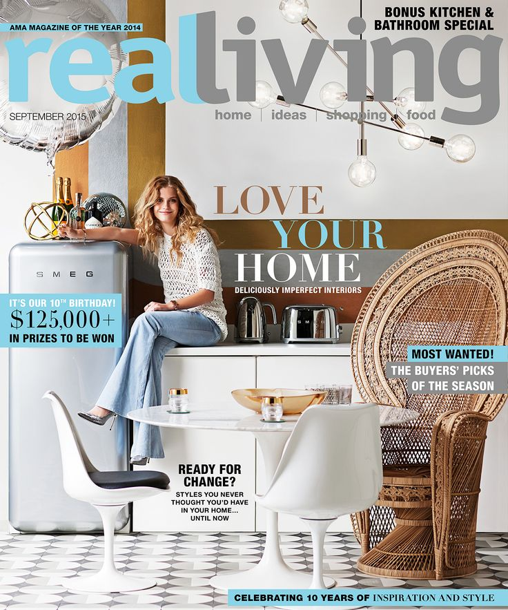 The DL Edit - Interior Design Magazines: Real Living Magazine September 2015