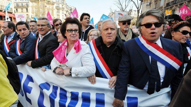 Manifestation anti-mariage gay: la cohabitation entre l'UMP et le ...