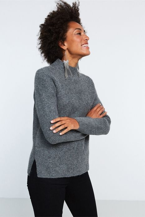 Amber stickad tröja 299.00 SEK, Stickade tröjor - Gina Tricot