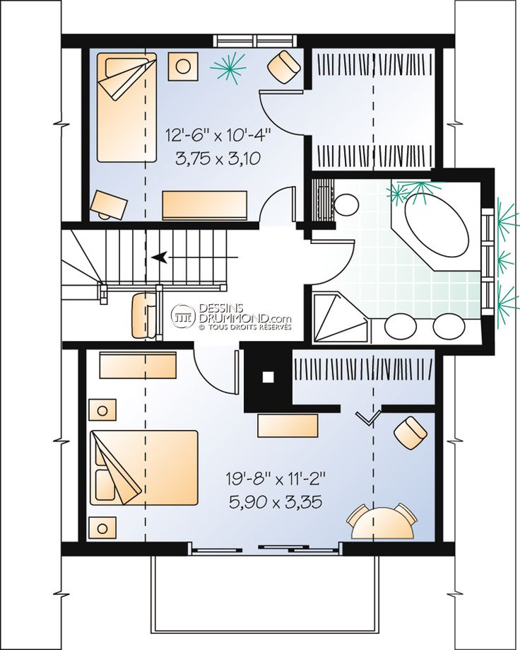 20 best Floor plans images on Pinterest Small houses, Architecture