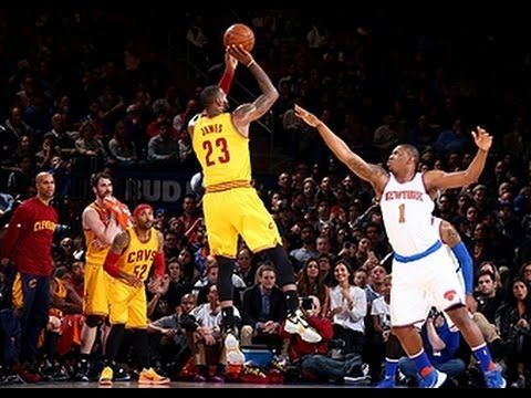 LeBron James Records Triple-Double at the Garden - YouTube