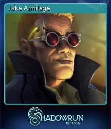 Cromo de Steam «Jake Armitage» de Shadowrun Returns