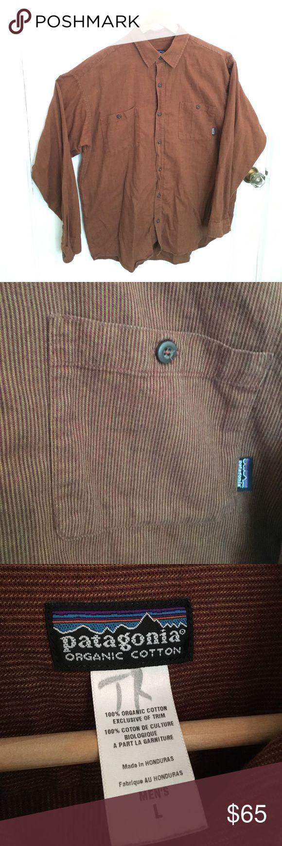 Patagonia Organic Cotton button down shirt. L. Patagonia Organic Cotton button down shirt. L. Patagonia Shirts Casual Button Down Shirts