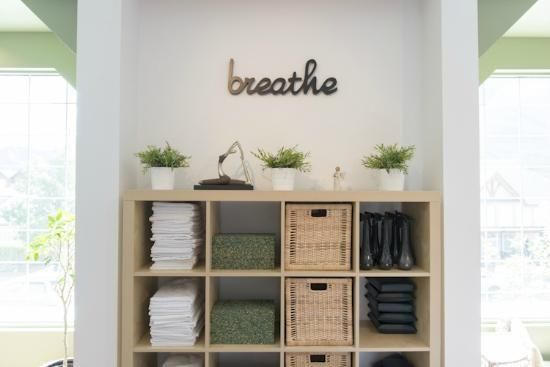 let each space say somethinguplifting welcoming peaceful rejuvanating inspiring restful energizing meaningful pilates studio ideas - Home Yoga Studio Design Ideas
