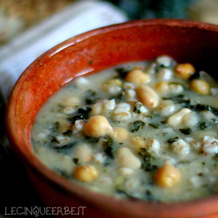 LE CINQUE ERBE: La Mescia, zuppa del levante con il cavolo nero