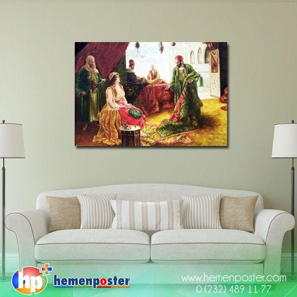 Bir tıkla tablo karşınızda. Sipariş --> http://bit.ly/2dnDUsa #hemenposter #canvas #tablo #art #dekoratif #design #osmanlı #art