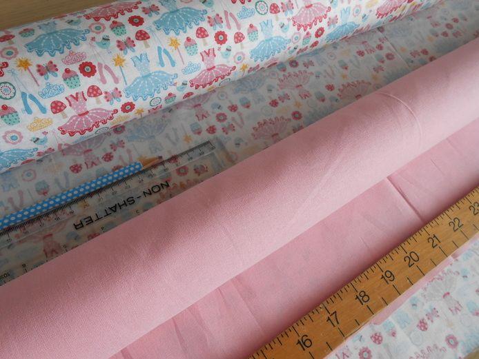 Pink ballerina patchwork fail