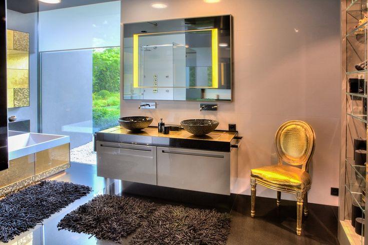 Ekskluzywna łazienka w nowoczesnym stylu