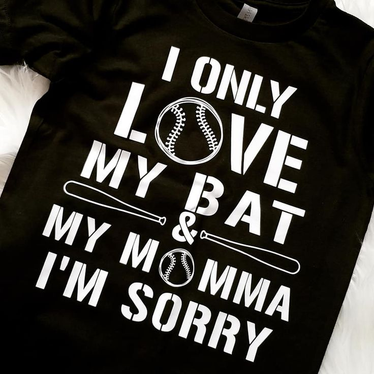 Download I only love my bed an my mom | Baseball Tee | I'm Sorry ...