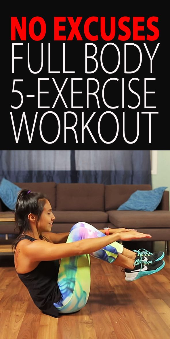 .The perfect anywhere workout. Tight on space and time? Do this anywhere, anytime. Start with the warm up and then do 4 rounds with 15 reps of each exercise.