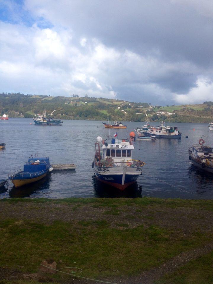 Dalcahue, Isla de Chiloé, Sur de Chile.