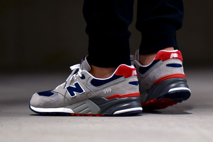 New Balance 999 AE - Grey/Navy/Red - Sneakers.fr   Chaussures ...