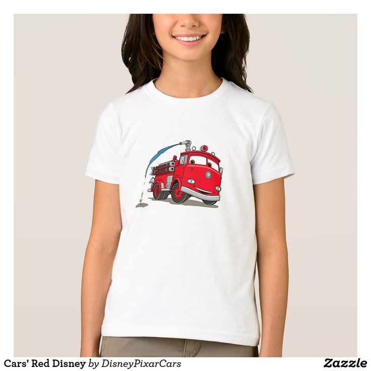 Cars' Red Disney. Producto disponible en tienda Zazzle. Vestuario, moda. Product available in Zazzle store. Fashion wardrobe. Regalos, Gifts. Trendy tshirt. #camiseta #tshirt