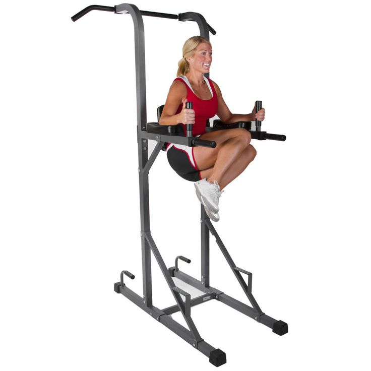 Xmark Fitness Xm 4434 Tower With Dip Station And Pull Up Bar