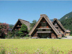 Bio-Architettura - Case del Villaggio di Shirakawa-go in Giappone