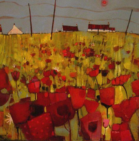 Drying Poles, Skye by Gordon Wilson