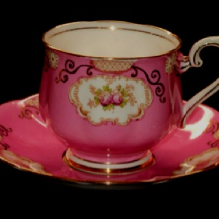I'm sad all my tea cups broke. Dad and I had collected them since I was born. :(