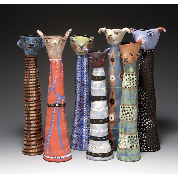 Pottery creatures