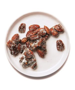 Bake the mixed nuts with brown sugar, butter, and cayenne pepper to turn them into a crowd-pleasing treat. Get the recipe for Sweet and Spicy Candied Nuts.