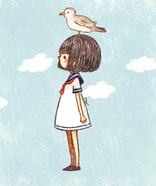 kawai little girl