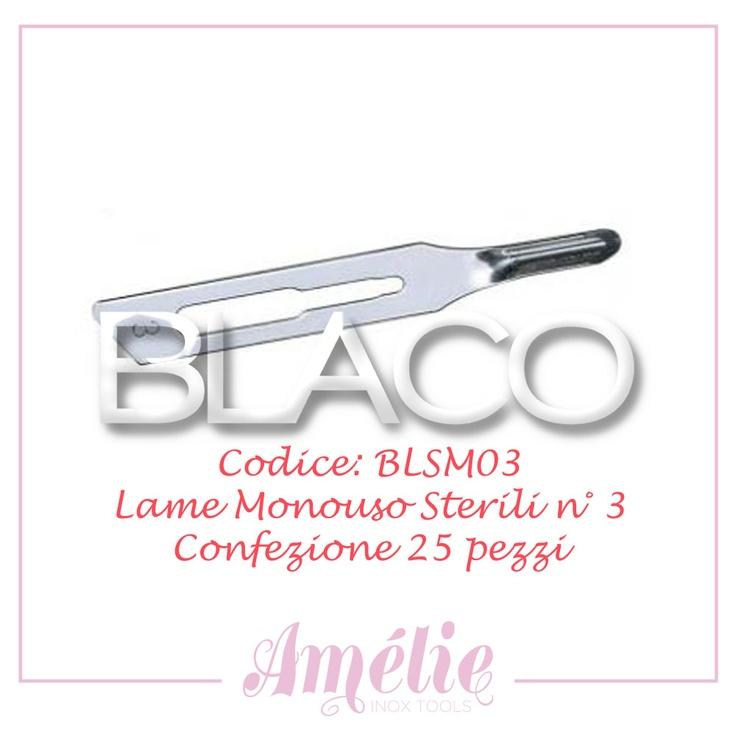 Amelie inox tools sgorbia box 25pz num. 3