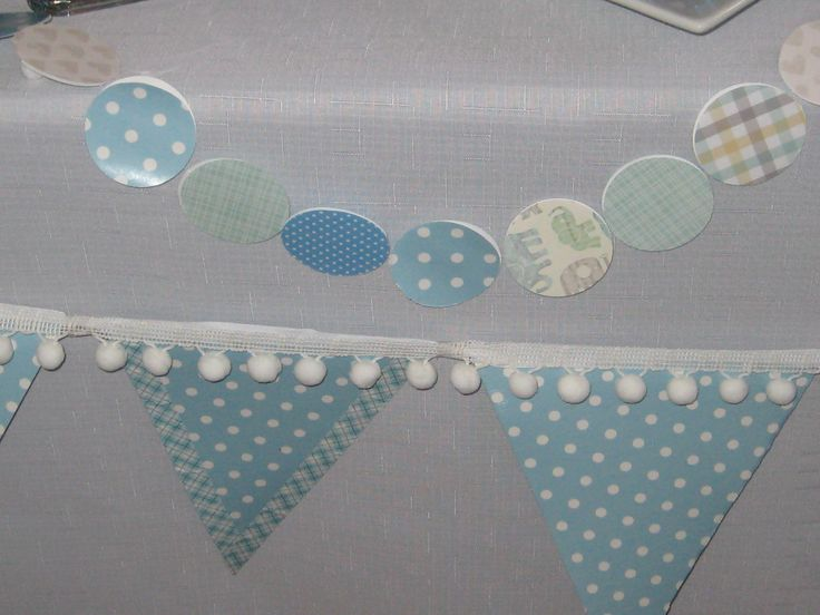 Wrapping paper used for bunting