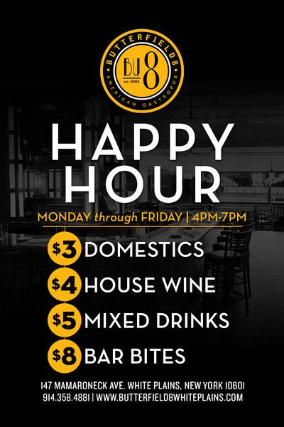 Restaurant in White Plains, Sports Bar & Happy Hour White Plains ...