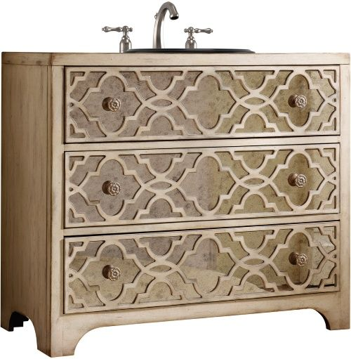 Attractive Dresser Style Bathroom Vanity.