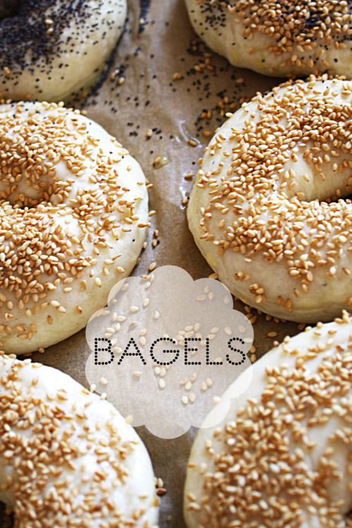 Homemade bagels. Particularly appealing since I can't find an original bagel shop anywhere in this city.