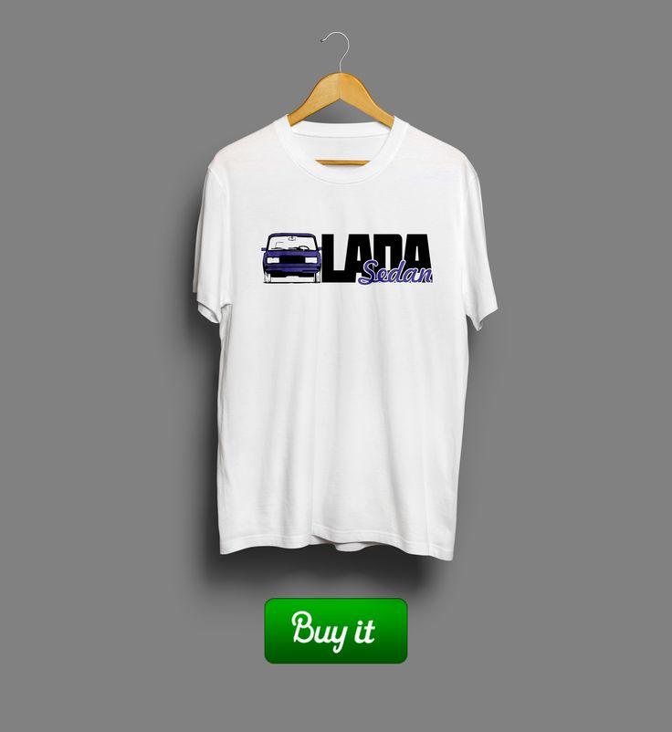 Лада Седан - баклажан   #баклажан #Lada #Sedan #лада #седан #футболка #tshirt #ВАЗ #авто #машина #car #old #classic #классика