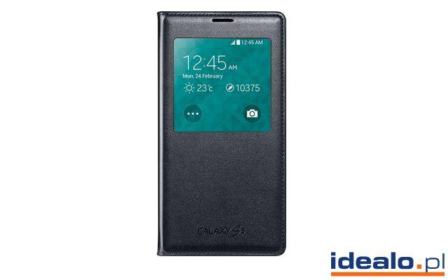 Ochraniacz na telefon Samsung S-View Cover (Galaxy S5) od 105,40 zł WIĘCEJ: http://www.idealo.pl/ceny/4293406/samsung-s-view-cover-galaxy-s5.html