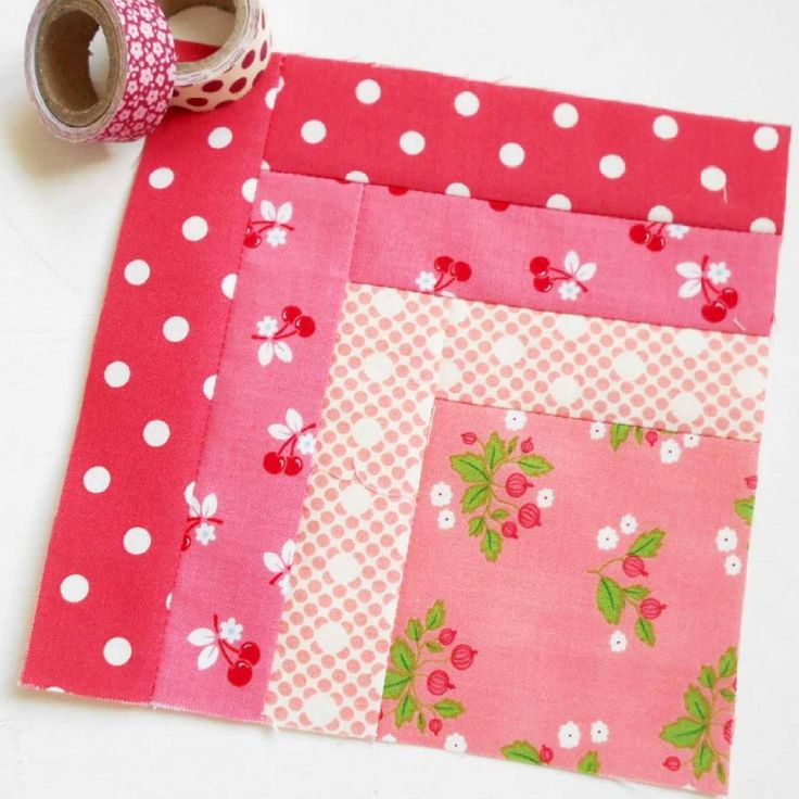 Block 238 - Pretty in Pink.  Sometimes the simplest blocks are the prettiest.