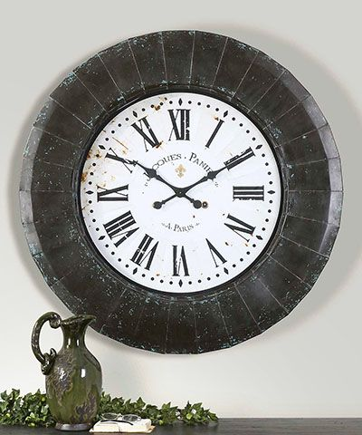 Peronell Clock For Collectors Decorators Or Designers