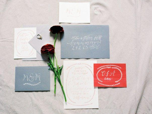 Bröllopsinbjudningar från Miss Papperista