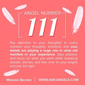 In addition to being a sign that you are in the presence of angels, The Angel Number 111 carries with it meaning pertaining to manifestation, and specifically about your role in creating blessings in your life... Click to Learn more!