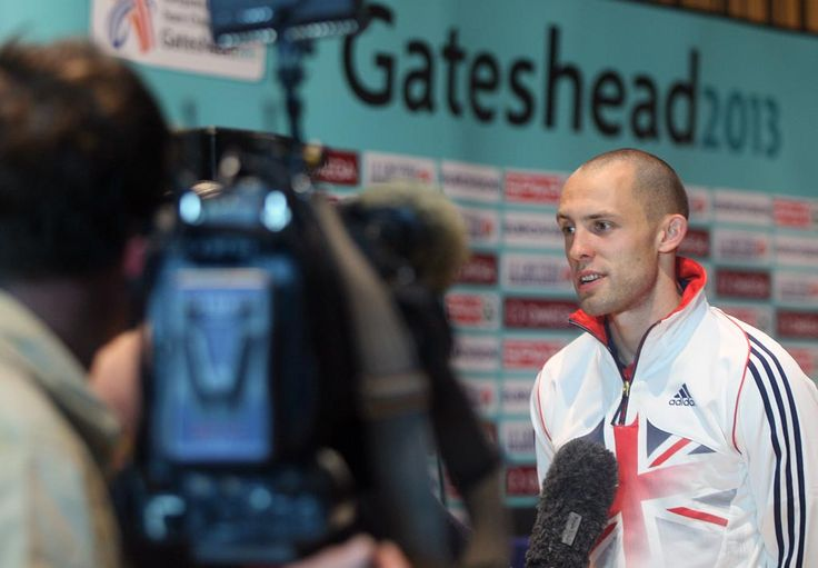 Recently we played host to the press conference that formally launched the European Athletics Team Championships 2013. Working with Gateshead Council and Nova International we made sure some of the world's leading athletes were able to liaise with media at this very special event. The film crews were certainly able to make use of our world-class acoustics, that's for sure. If you wondering who is pictured here, it's Dai Greene from Team GB (400m hurdles).