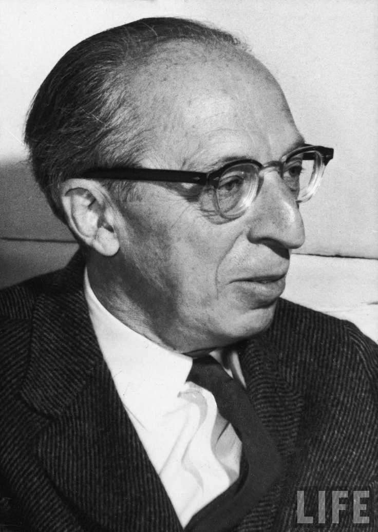Great American composer Aaron Copland (1900-1990).